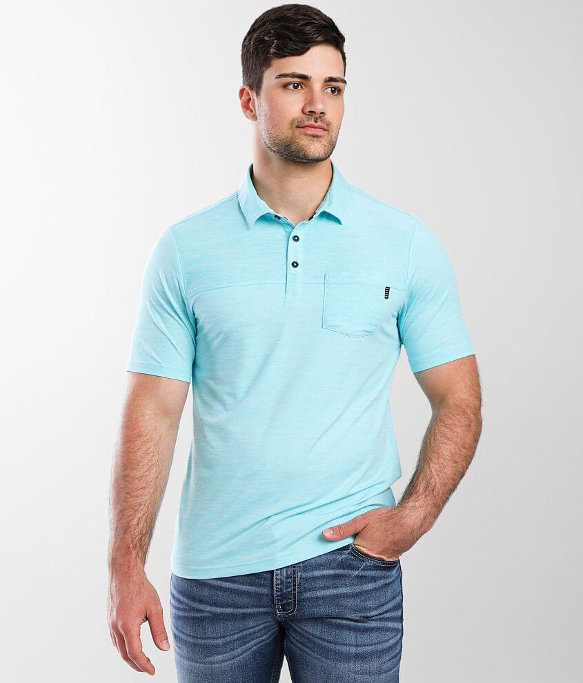 Veece Rory Performance Stretch Polo front view