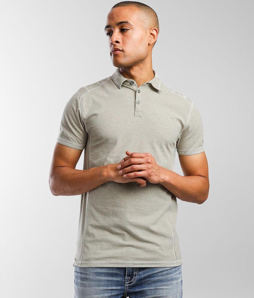 BKE Bryce Stretch Polo front view