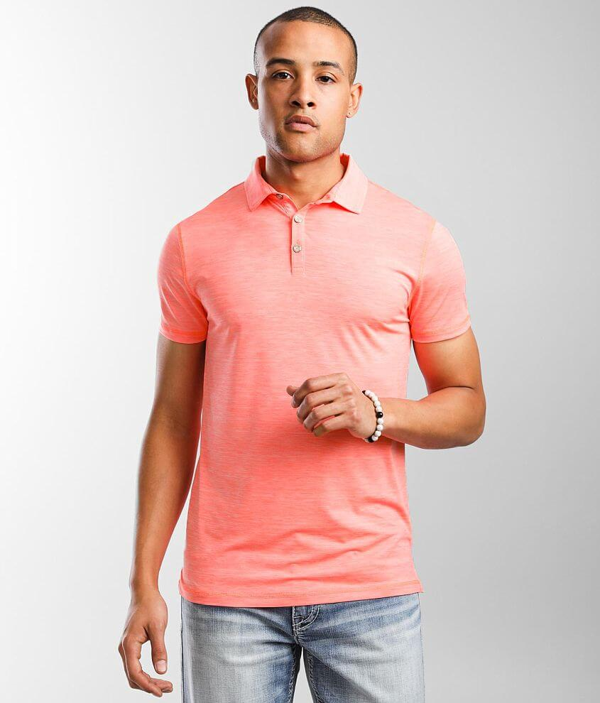 BKE Zion Performance Stretch Polo front view