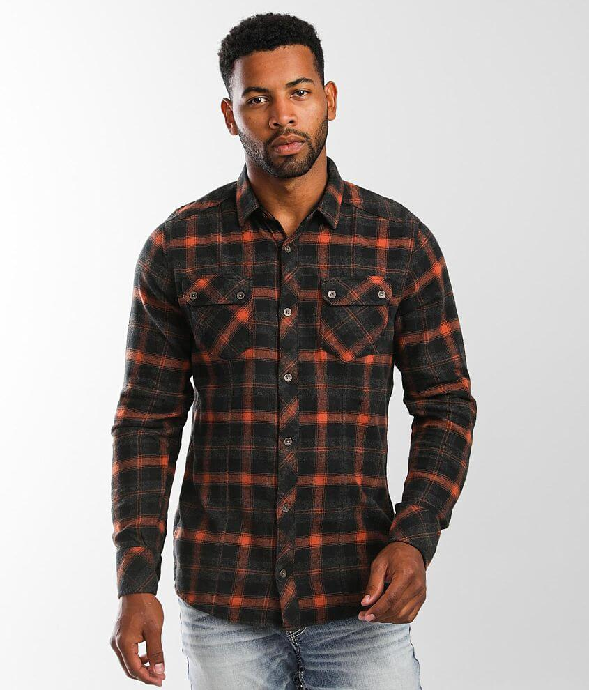 Outpost Makers Brushed Flannel Shirt front view