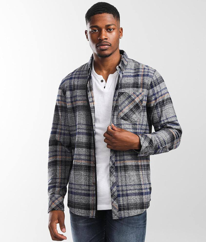 Outpost Makers Plaid Flannel Shirt front view