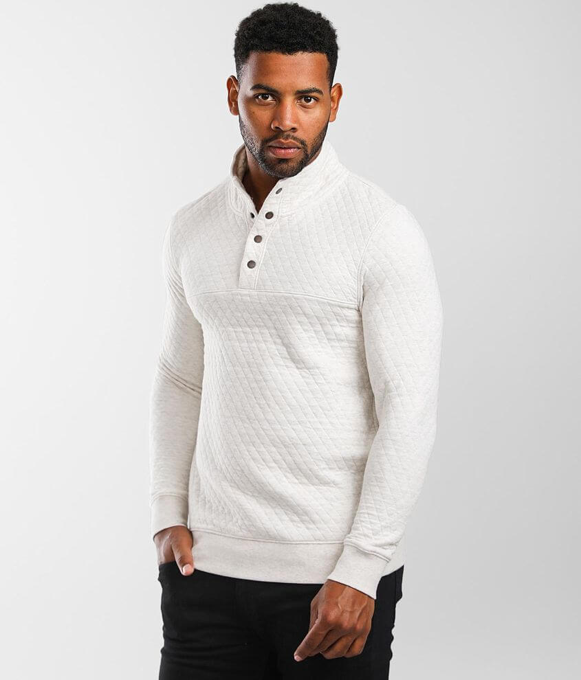 Outpost Makers Otto Quilted Pullover front view