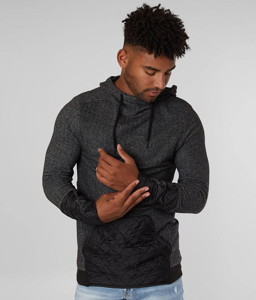 Buckle Black In the Zone Hooded Sweatshirt front view