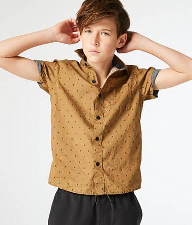 Boys - Departwest Arrow Woven Shirt