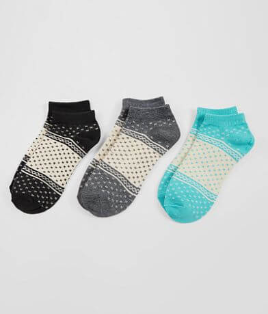 BKE 3 Pack Patterned Socks
