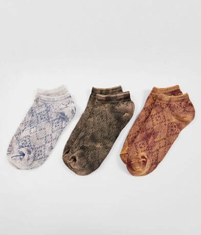 BKE 3 Pack Washed Socks
