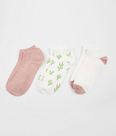 BKE 3 Pack Cactus Socks