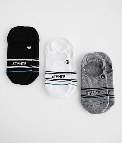 Stance Basic 3 Pack Super Invisible Socks
