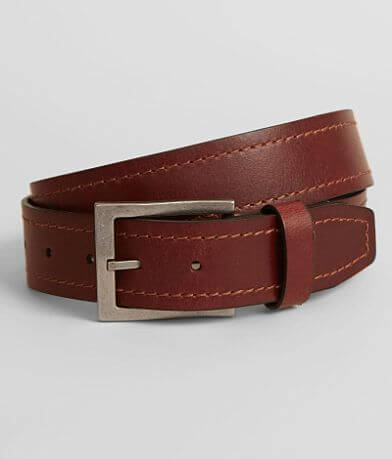 Bill Adler Embroidered Leather Belt