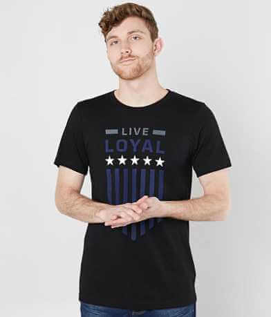 SRVS Live Loyal Stars T-Shirt