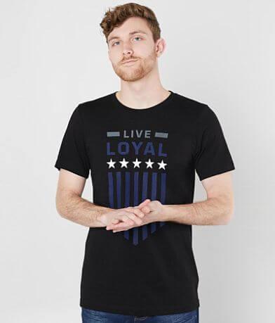 SRVS Live Loyal Stars T-Shirt