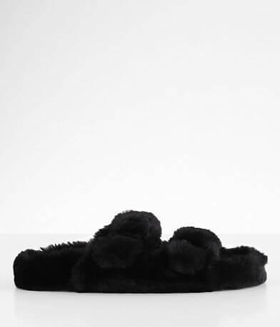Steve Madden Around Faux Fur Slipper