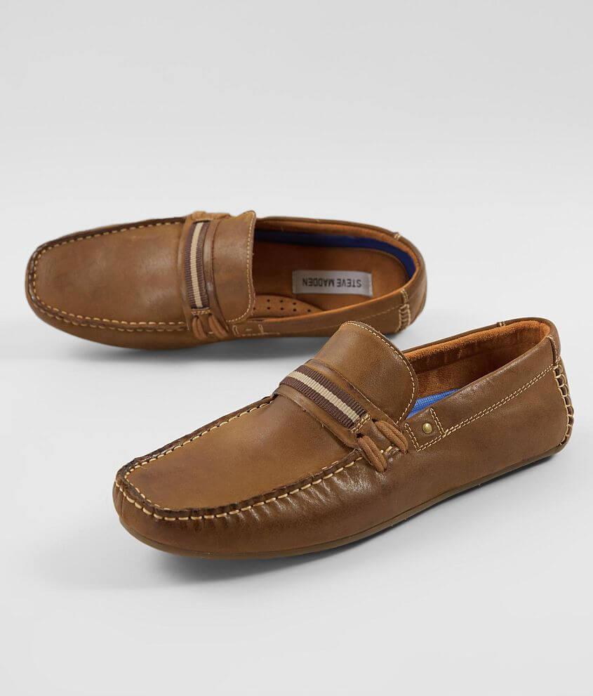 977a070ad99 Steve Madden Gander Leather Boat Shoe - Men's Shoes in Dark Tan | Buckle