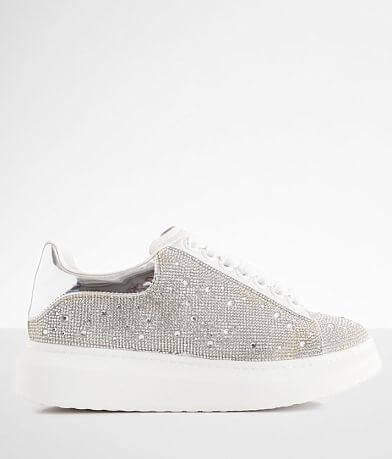 Steve Madden Glimmer Rhinestone Leather Shoe