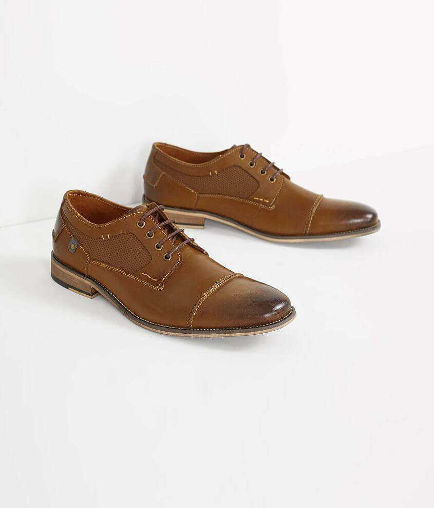 9d5dcfb1748 Steve Madden Jagwar Leather Shoe - Men's Shoes in Tan | Buckle