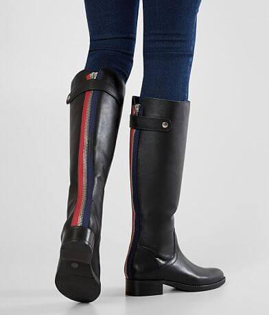 1e1e02174b Steve Madden Journal Leather Riding Boot