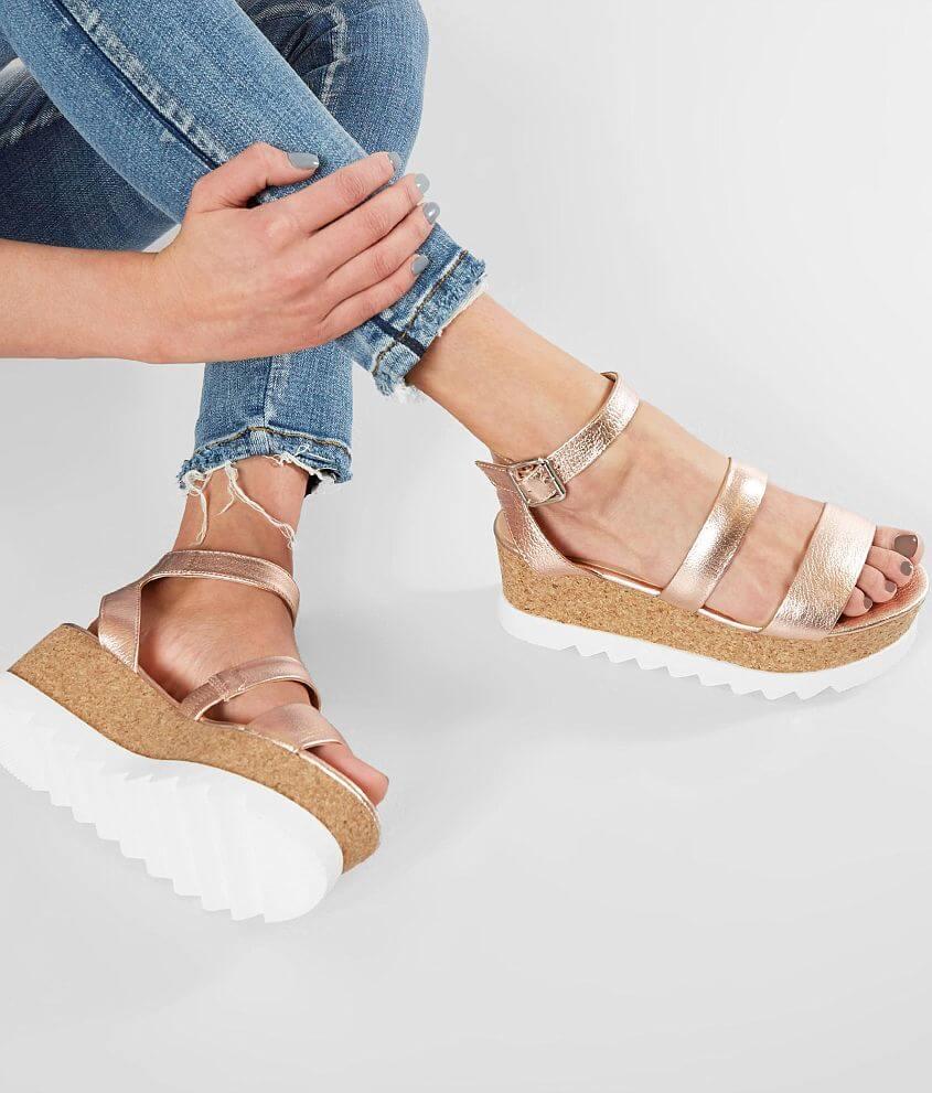 0cad4271d5b1 Steve Madden Kirsten Flatform Sandal - Women s Shoes in Rose Gold ...