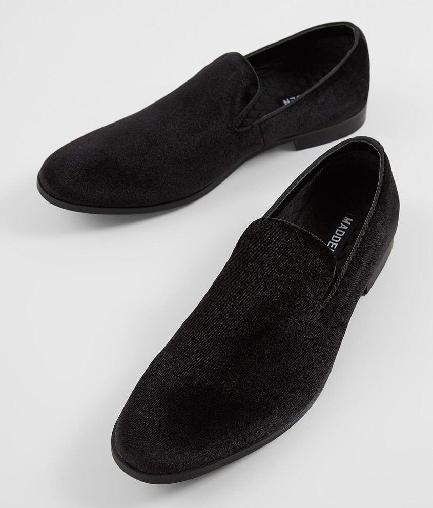 e27d38cfc23 Steve Madden M-Dashh Loafer Shoe - Men's Shoes in Black Velvet | Buckle