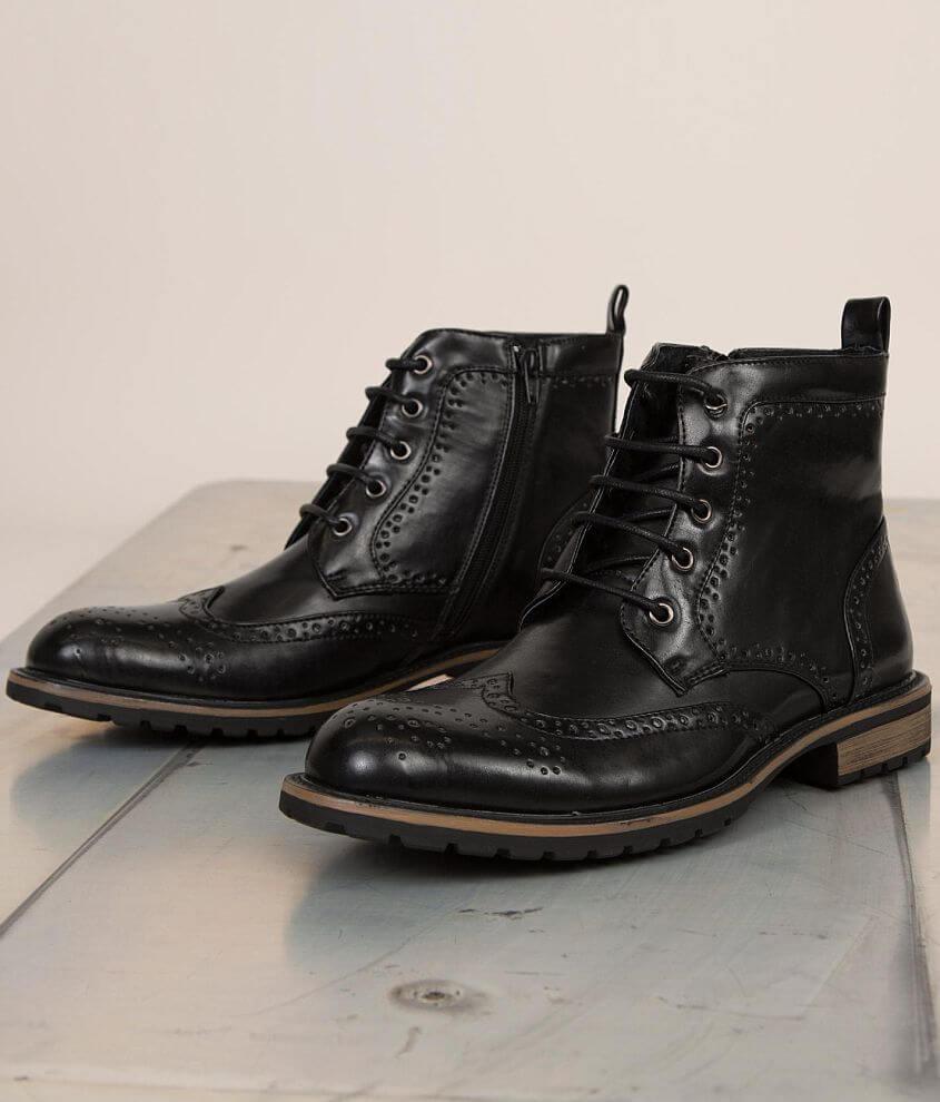 a2701ee483e Steve Madden Swanky Boot - Men's Shoes in Black | Buckle