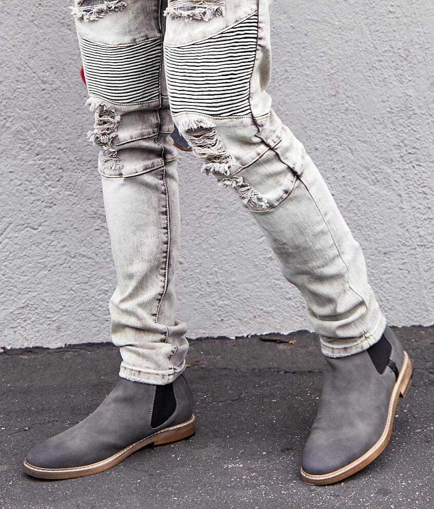 reasonably priced 100% top quality wide varieties Steve Madden M-Ustin Chelsea Boot - Men's Shoes in Grey | Buckle