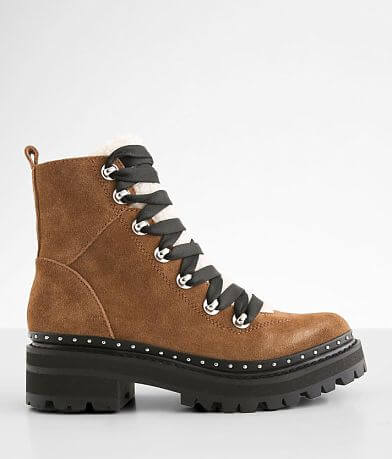 Steve Madden Rainier Leather Hiker Boot