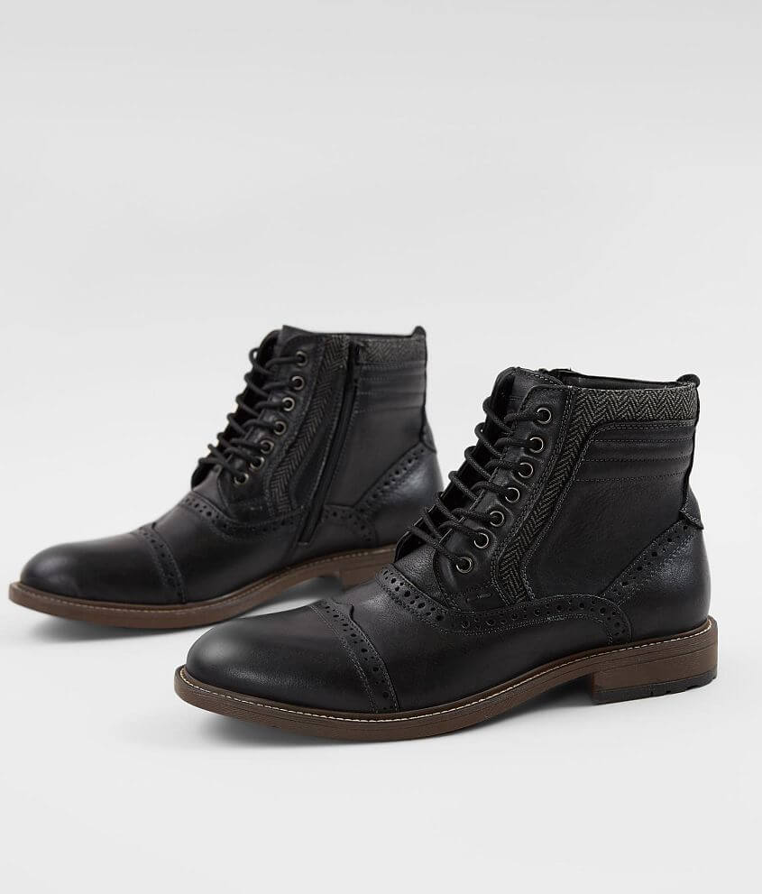 De vez en cuando aventuras Disfraces  Steve Madden Trentin Leather Boot - Men's Shoes in Black | Buckle