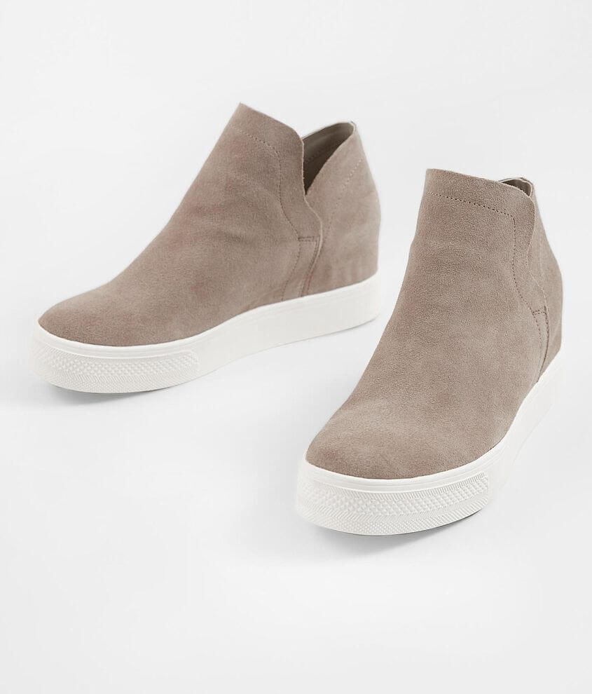 9918e28bb6e8 Steve Madden Wrangle Suede Wedge Shoe - Women s Shoes in Taupe