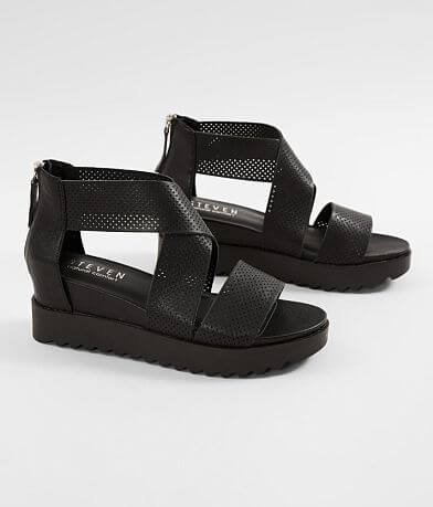 Steven Klein Leather Wedge Sandal