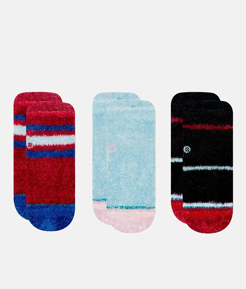 Baby - Stance 3 Pack Snuggle Slipper Socks front view