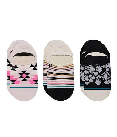 Stance 3 Pack Ryley No Show Socks