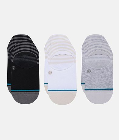 Stance 3 Pack Sensible Super Invisible Socks