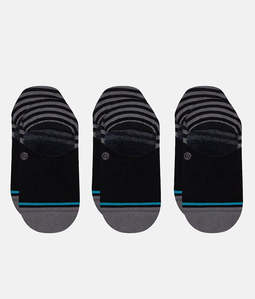 Stance 3 Pack Sensible Common No Show Socks front view