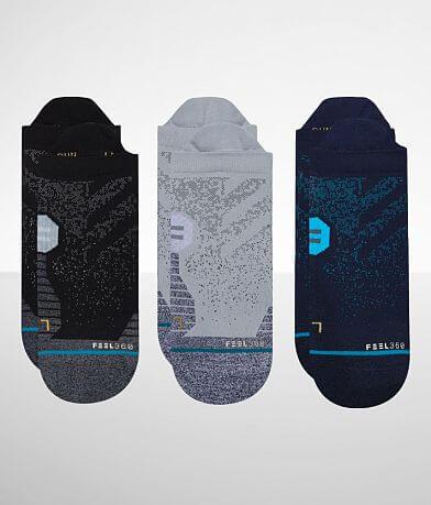 Stance 3 Pack Run Tab INFIKNIT™ Socks