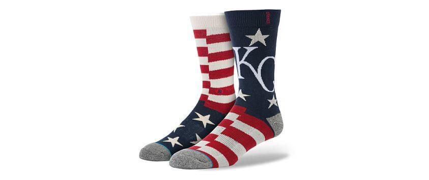Stance Kansas City Royals Brigade Socks front view