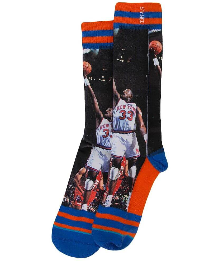 Stance Patrick Ewing Socks front view