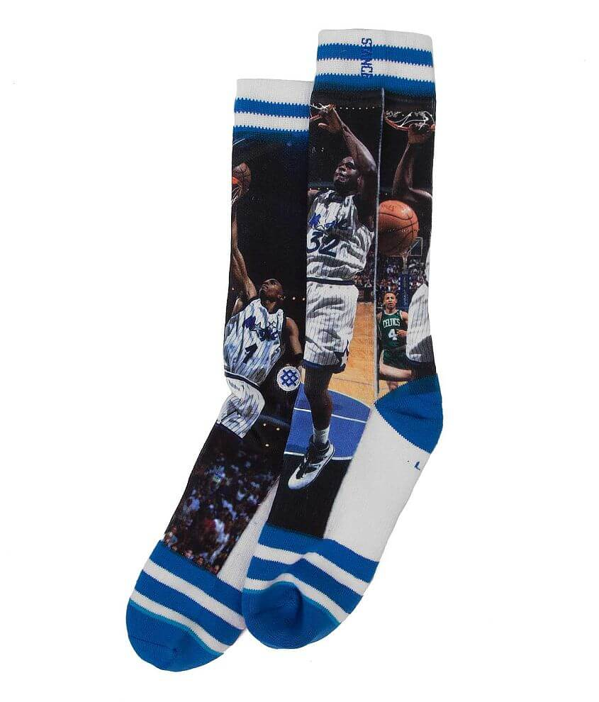 Stance O'Neal & Hardaway Socks front view