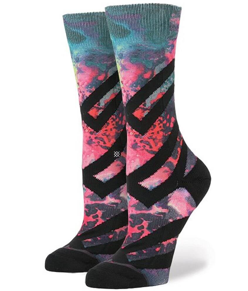 Stance Alien Acid Socks front view