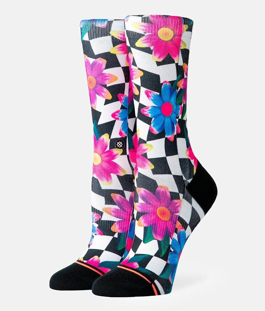 Stance Crazy Daisy Socks front view