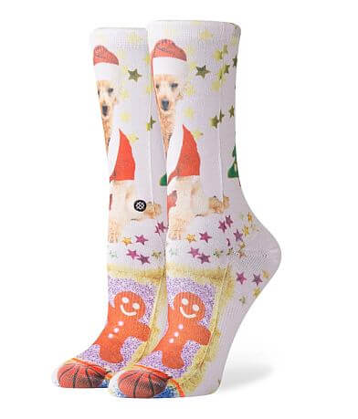 Stance Mrs. Paws Shimmer Socks