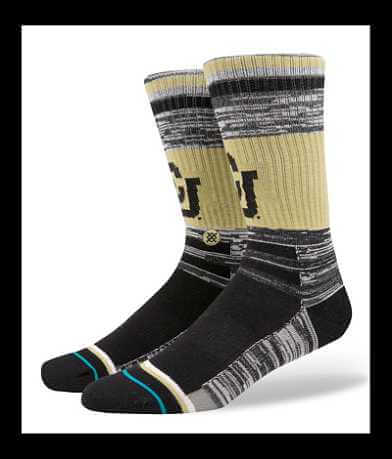 Stance Univeristy of Colorado Buffaloes Socks