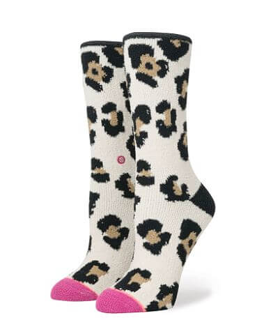 Stance Bodacious Leopard Socks