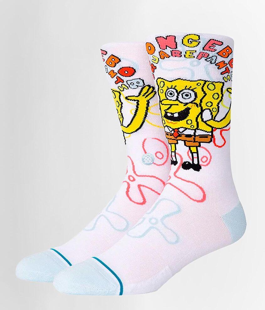 Stance Spongebob Squarepants Socks front view