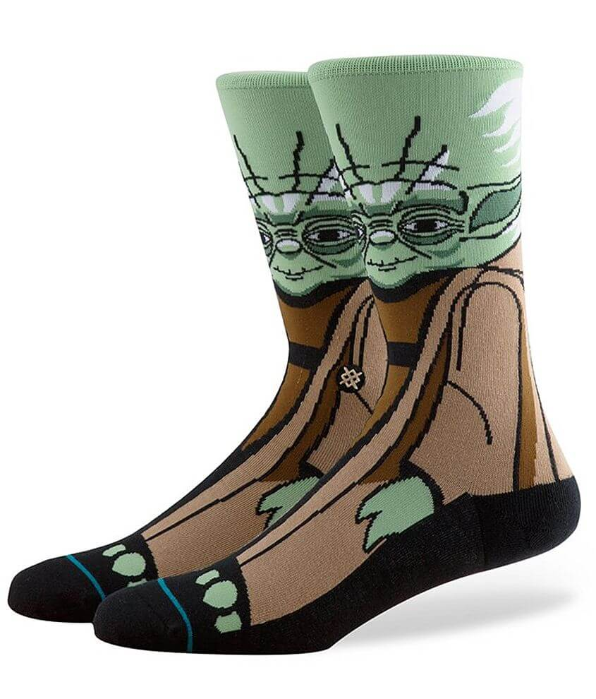 Stance Yoda Socks front view
