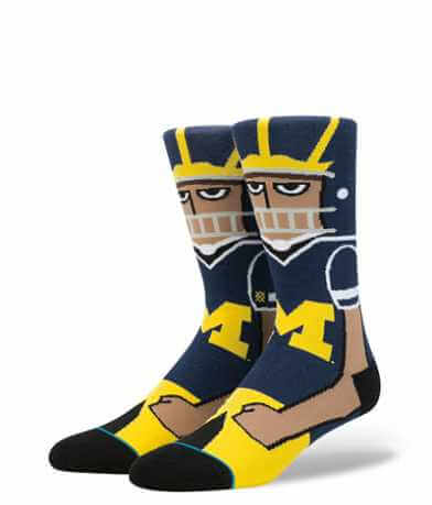 Stance Michigan Wolverines Socks