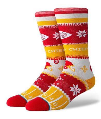 Stance Kansas City Chiefs Holiday Socks