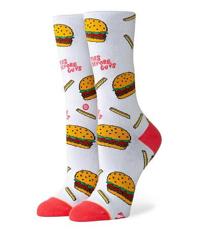 Stance Fries Before Guys Socks