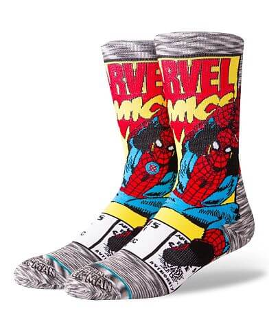 Stance Marvel Spiderman Comic Socks