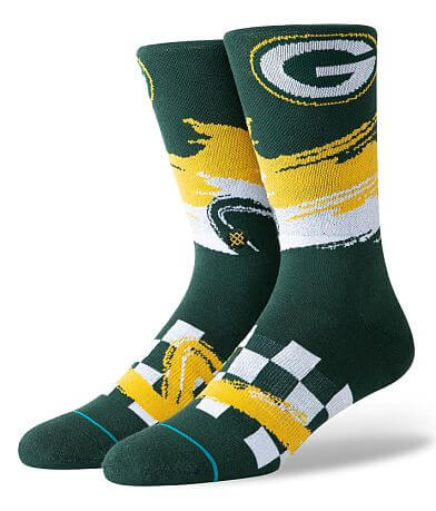 Stance Green Bay Packers Wave Racer Socks