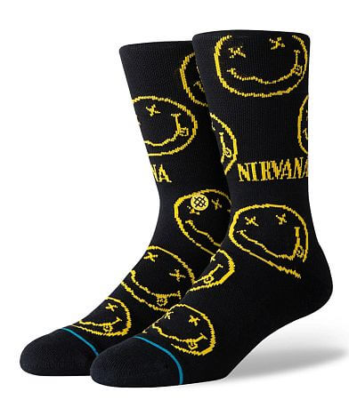 Stance Nirvana Smiley Face Socks