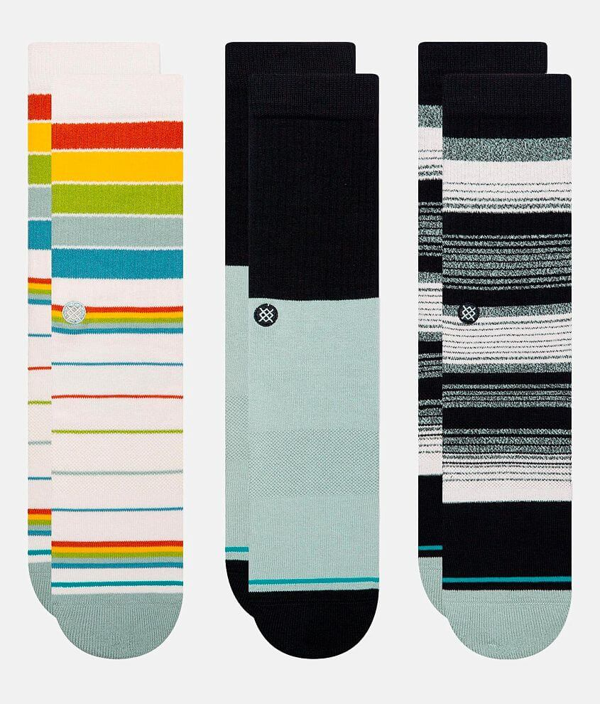 Stance Badwater 3 Pack Socks front view